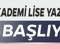 Akademi Lise'de 2018 Yaz Okulu