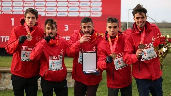 Avrupa Kros Şampiyonası'nda Darıca'lı Atlet İkinci Oldu.