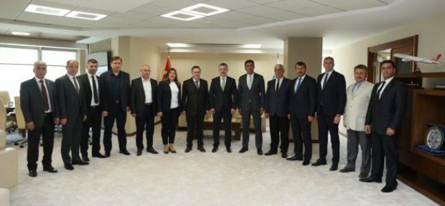 Türkkan'dan Büyükakın'a Ziyaret