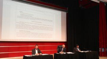 Ekim ayı meclis toplantısının 2. oturumu gerçekleştirildi