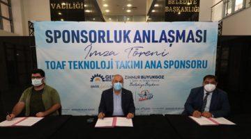 GTÜ TOAF takımı ana sponsorluk anlaşması
