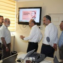 Başbakan Yardımcısı Işık'dan İl SKM'ye ziyaret