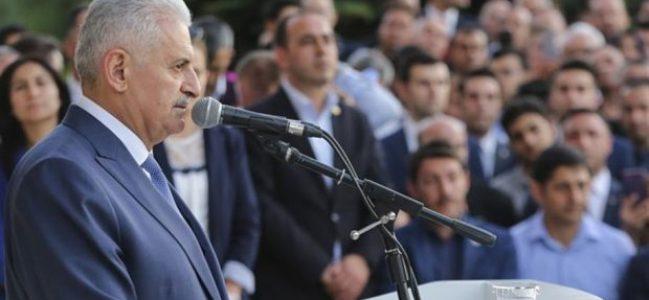 Başbakan Veda Etti
