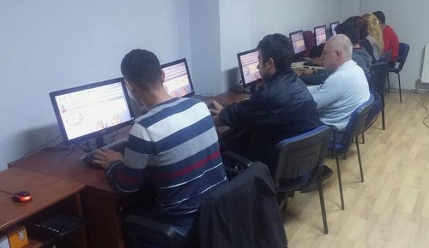 DER-MEK'te Bilgisayar İşletmenliği Kursu