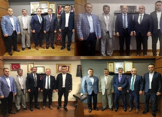 Bıyık, Ankara'da temaslarda bulundu