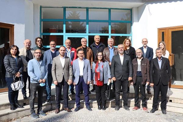 Balkan Kültür Evi'ni incelediler
