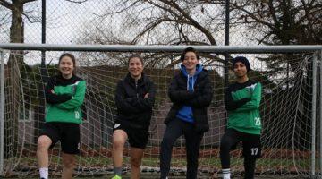 Kadın spor kulüplerine malzeme yardımı