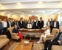 CHP'lilerden Bıyık'a Hayırlı Olsun Ziyareti