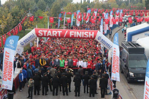 5 bin 700 sporsever katıldı