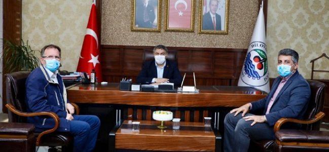 Dr. Polat'tan Şayir'e ziyaret
