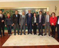 CHP Gebze'den Büyükgöz'e hayırlı olsun ziyareti
