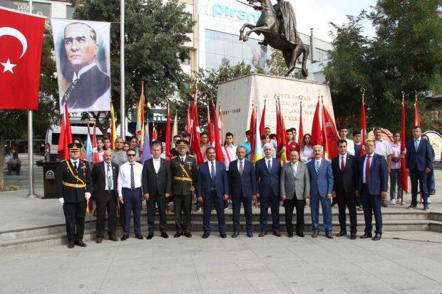 Gebze'de 30 Ağustos törenle kutlandı
