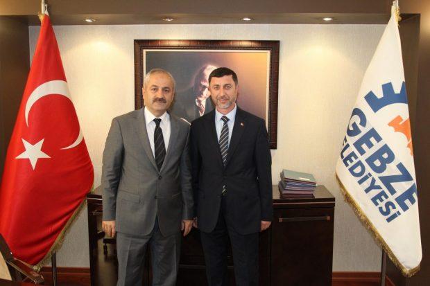 Gebze'de Başkan Yardımcısı Çelik oldu
