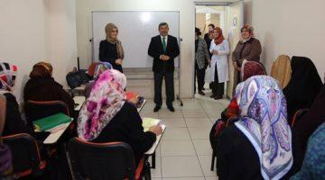 Darıca'da bayanlara yönelik kurslara yoğun ilgi
