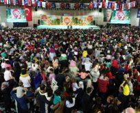 Çocukların festivaline 268 bin ziyaretçi
