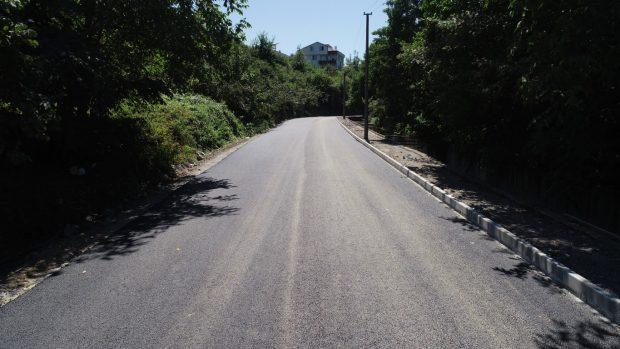 Kızılırman Caddesi Asfaltlanıyor