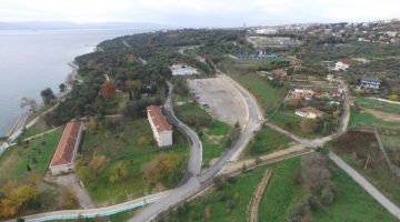 Sahil parkında yol konforu arttırıldı