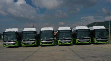 129 otobüsün 20 adedi Büyükşehir'e teslim edildi