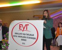Çakır'dan EYT mağdurlarına destek