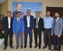 Türkiye Kamu Sen'den Eryarsoy'a hayırlı olsun ziyareti