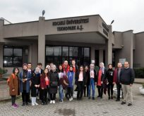 KOÜ 'Tekno Okul' projesinin ilk konuklarını ağırladı