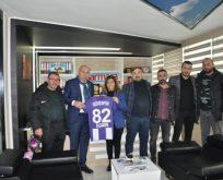 Gebzespor'dan Çakır'a ziyaret
