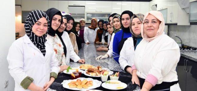 Aşçılık kursu büyük ilgi görüyor