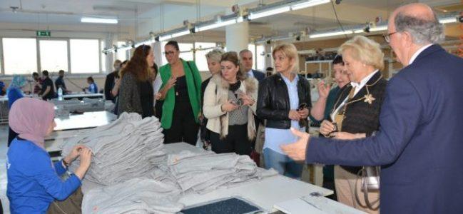 Yabancı kadın girişimcilerden 'Bizimköy'e ziyaret