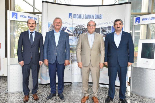 Başkanlar KSO'da Toplandı