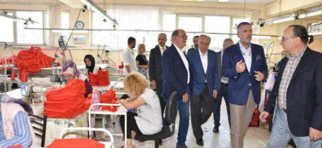 """"""" Bizimköy Engelliler Üretim Merkezi"""" ne hayran kaldılar"""
