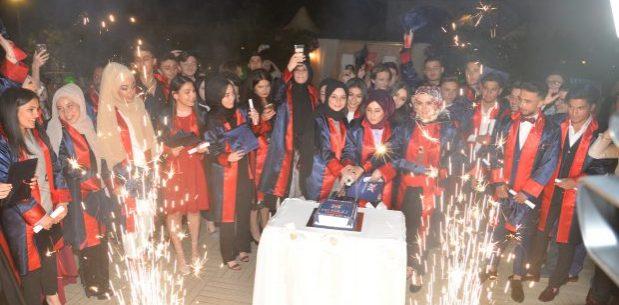 MY Kolej'de mezuniyet günü