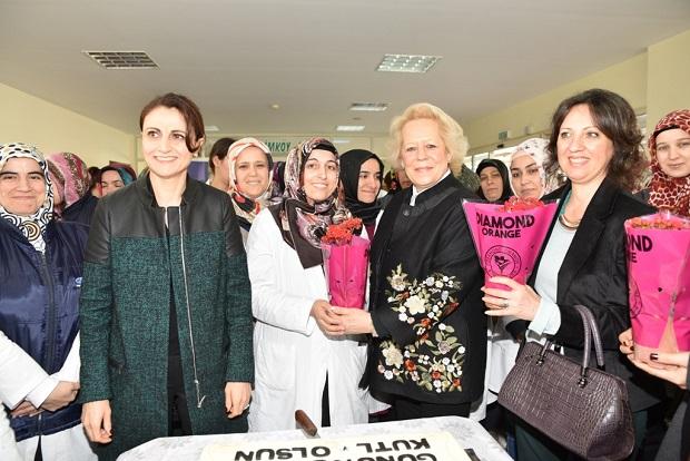"""Bizimköy'de """"8 Mart Kadınlar Günü"""" kutlaması yapıldı."""
