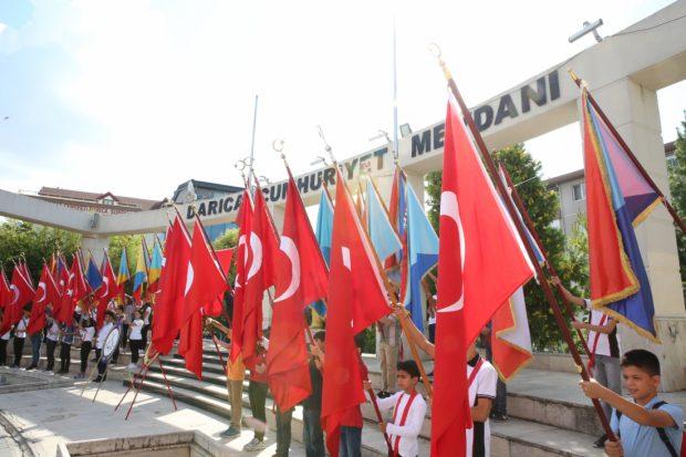 Darıca'da Coşkulu 30 Ağustos