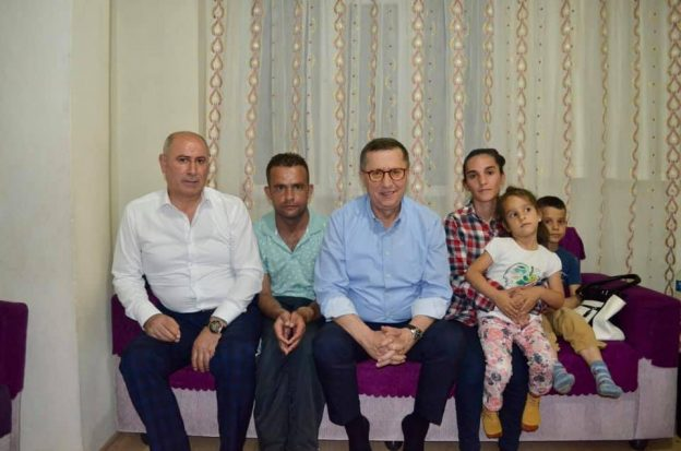 Türkkan Darıca'da Erdem ailesine misafir oldu