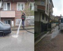 Bütün Mahalleler Her Gün Dezenfekte Ediliyor