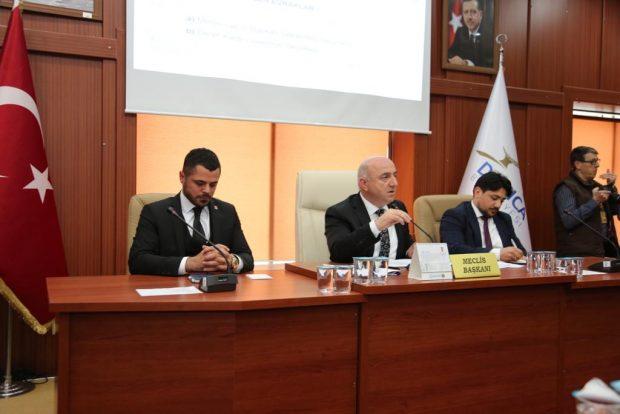Darıca Belediyesi ilk Meclis Toplantısını gerçekleştirdi