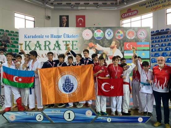 Darıcalı Milli Karatecilerden 9 Madalya