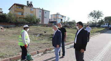 Sokak sokak temizlik çalışması başlatıldı