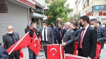 Darıca, Türk Bayraklarıyla Süslendi