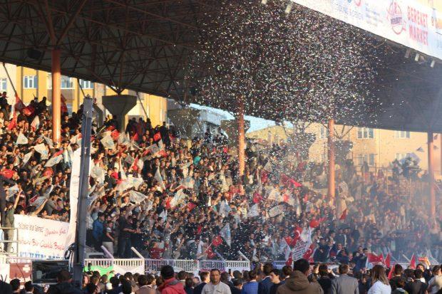 Gebze'de Coşkulu 'FETİH ŞÖLENİ'