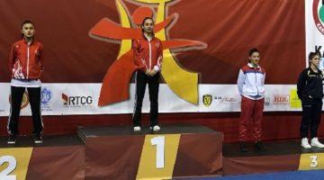 Demirtürk Balkan Şampiyonasında altın madalya kazandı