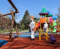 12 ilçedeki parklar dezenfekte edilecek