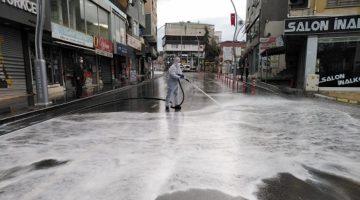 Cadde ve Sokaklara Detaylı Temizlik