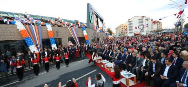 Naim Süleymanoğlu Kültür Merkezi Açıldı