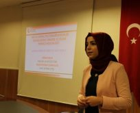 Kadına yönelik şiddetle mücadele eğitimi