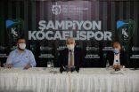 Kocaelispor'a bu şampiyonluk kutlaması yakışır