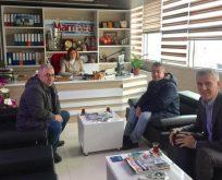 EYT'lilerden Serap Çakır'a ziyaret