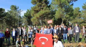 Çayırova'da 'Erbakan Hatıra Ormanı'