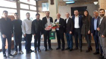 Yeşilay Gebze'den Ak Parti İlçe Başkanlarına Ziyaret
