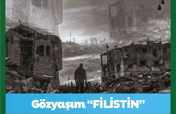 """""""Gözyaşım Filistin"""" tiyatrosu Darıca'da"""